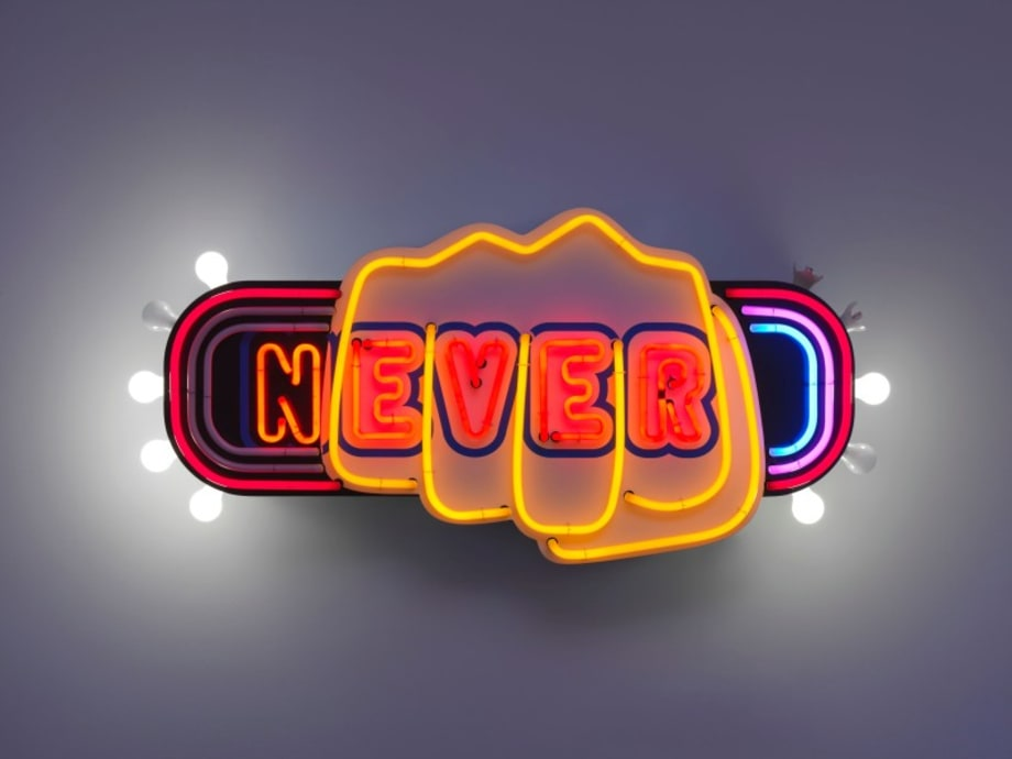 never by Tobias Rehberger