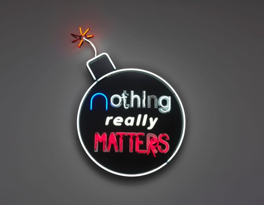 nothing really matters by Tobias Rehberger