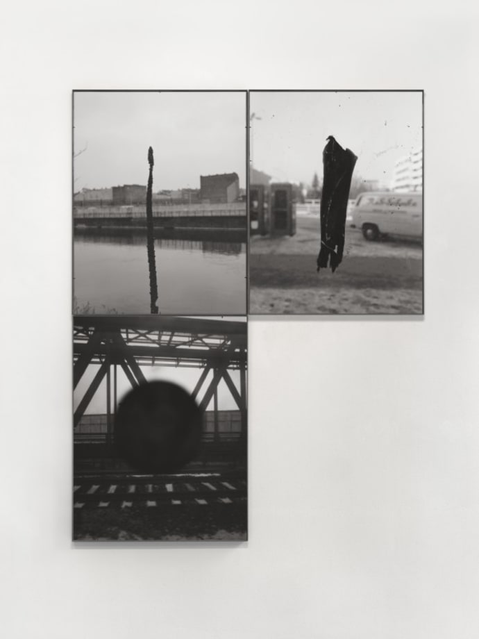 Untitled (from Waffenruhe) by Michael Schmidt