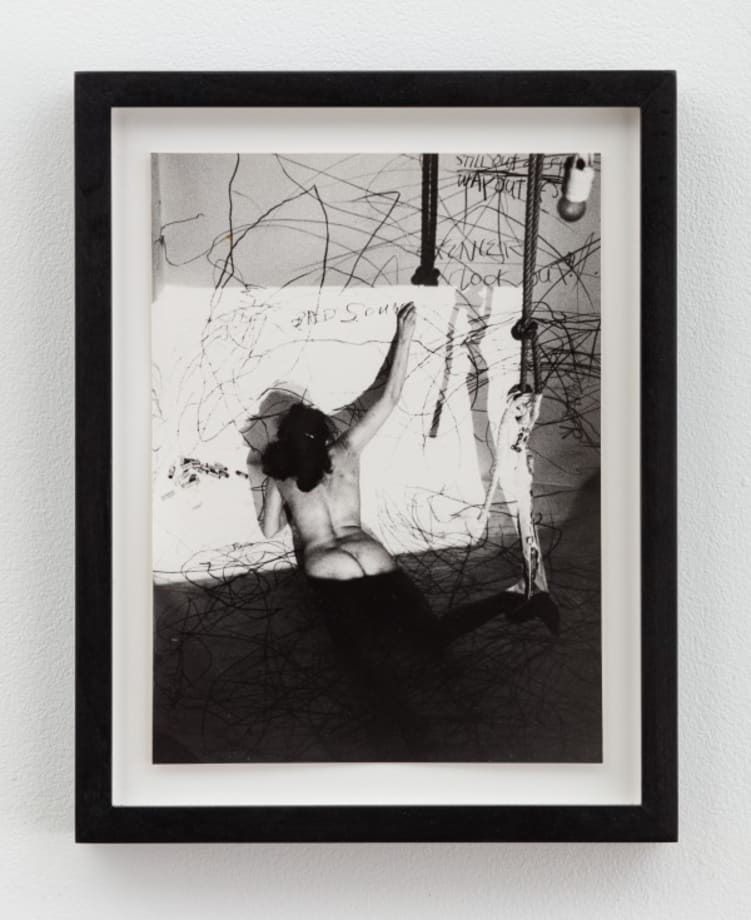 Up to and Including Her Limits (Studiogalerie Berlin) by Carolee Schneemann