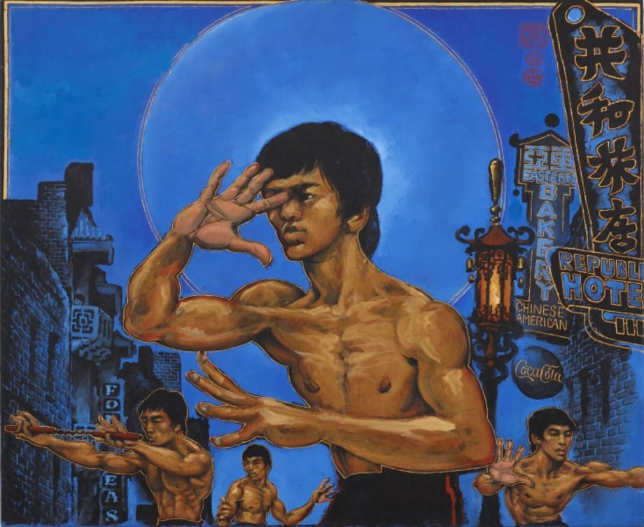 Clones of Bruce Lee by Martin Wong