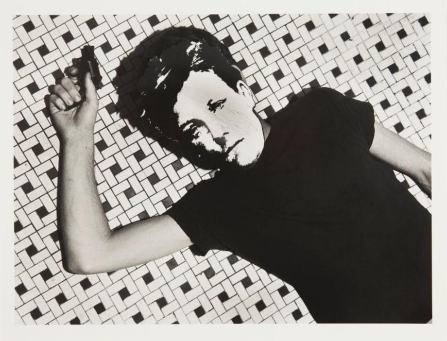 Arthur Rimbaud in New York (title floor, gun) by David Wojnarowicz