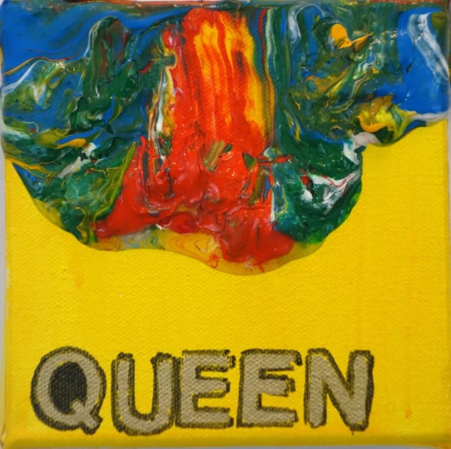 Queen #3 by Betty Tompkins