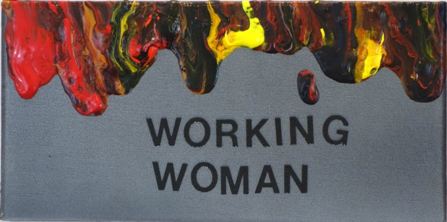 Working Woman by Betty Tompkins