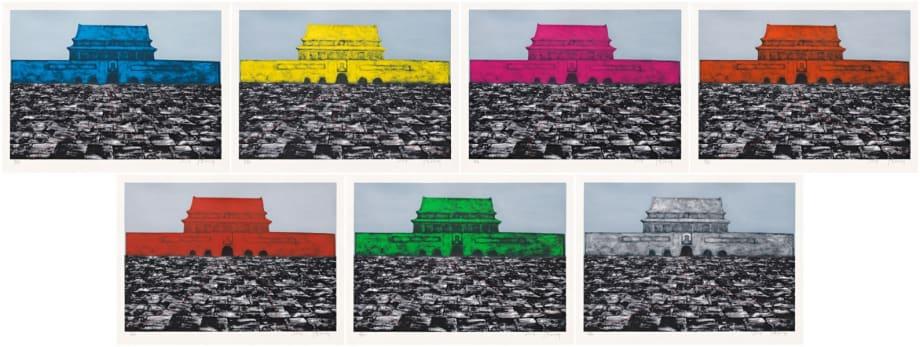 Tian'anmen Series by Zhang Xiaogang