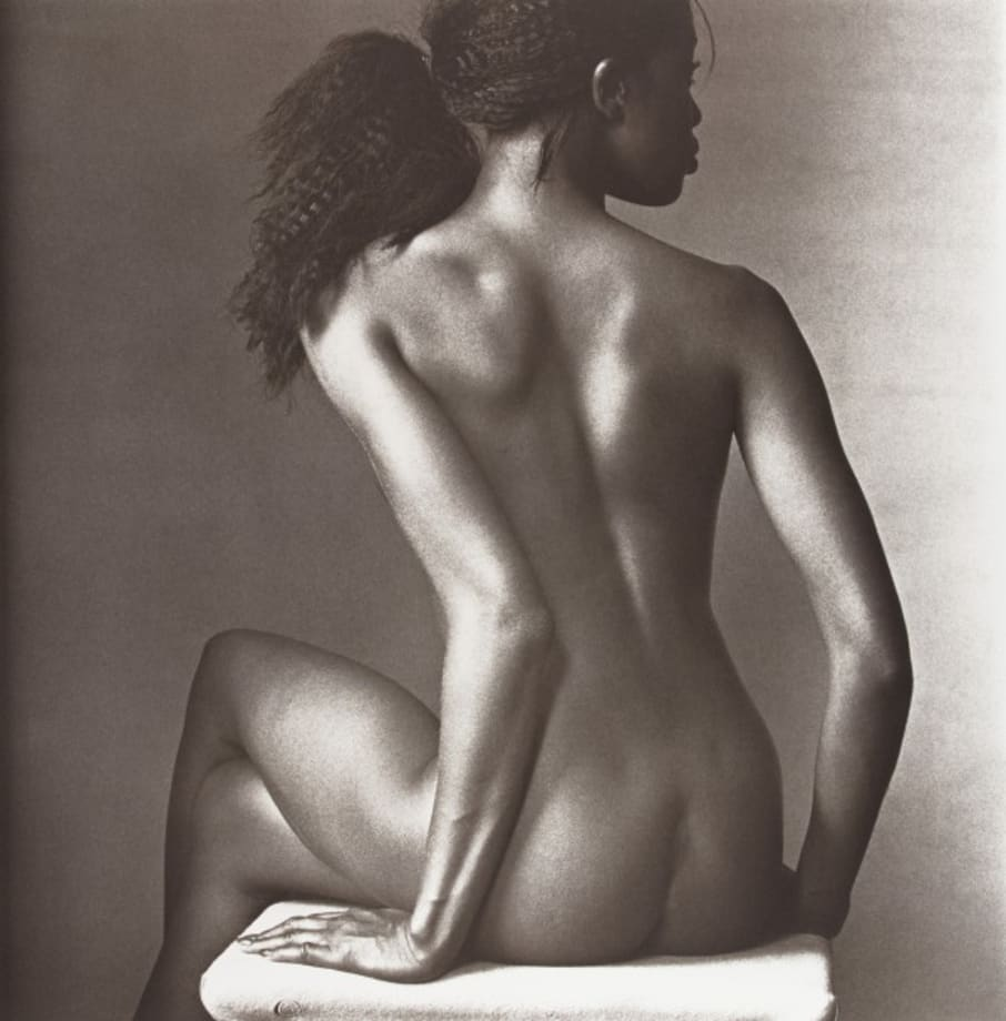 Naomi Campbell, New York by Irving Penn