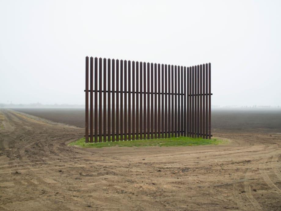 Wall, Near Los Indios, Texas by Richard Misrach