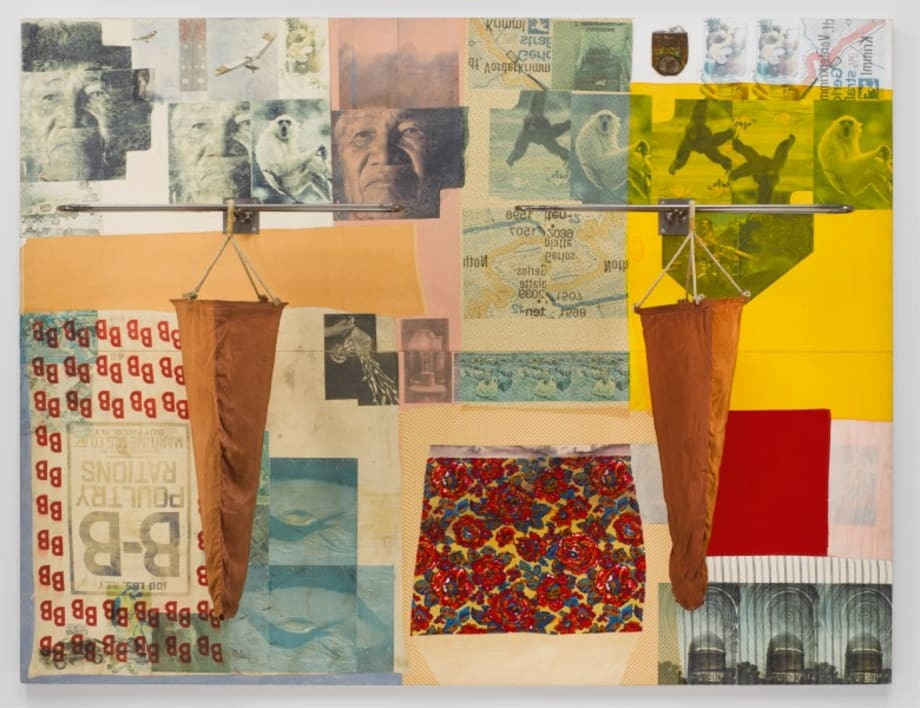 Tattoo (Spread) by Robert Rauschenberg