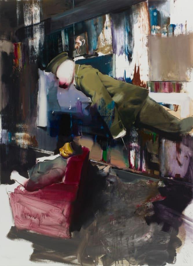 Untitled (Study for DADA Room) by Adrian Ghenie