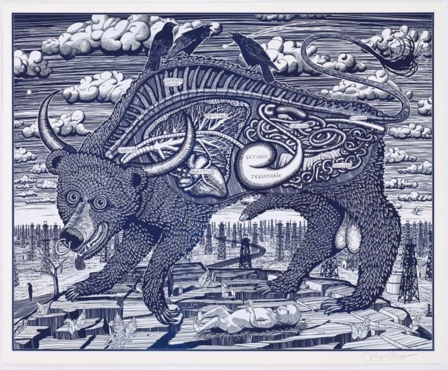 Animal Spirit (blue) by Grayson Perry