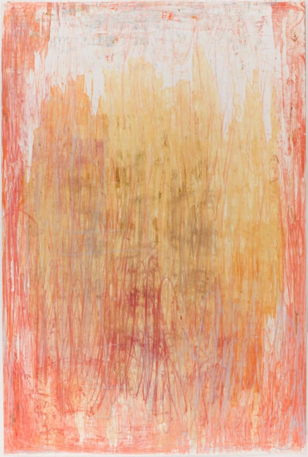 Seria Ludo large monoprints by Christopher Le Brun