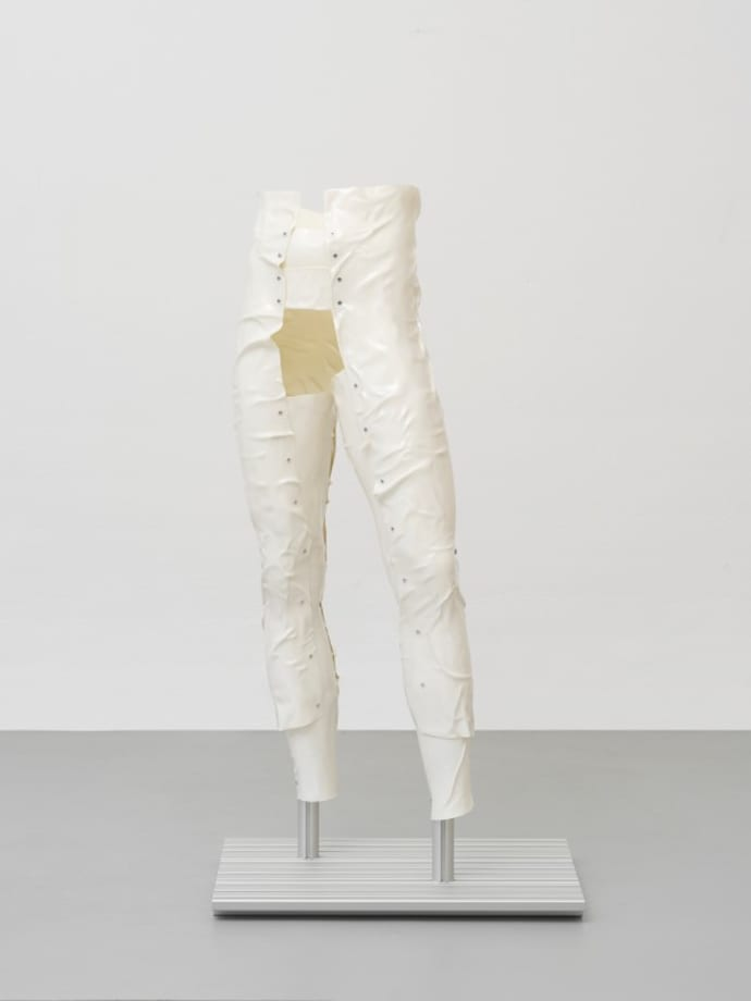 Vein Suit (wax stain) by Steffen Bunte