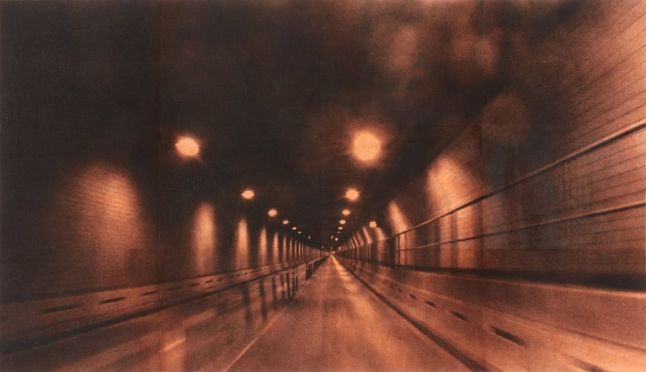 Battery Tunnel (Orange) by Adam McEwen