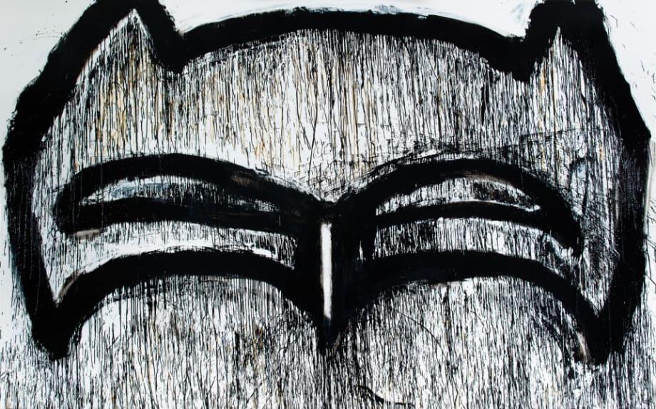 Texas Batman by Joyce Pensato