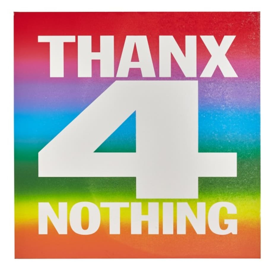 THANX 4 NOTHING by John Giorno