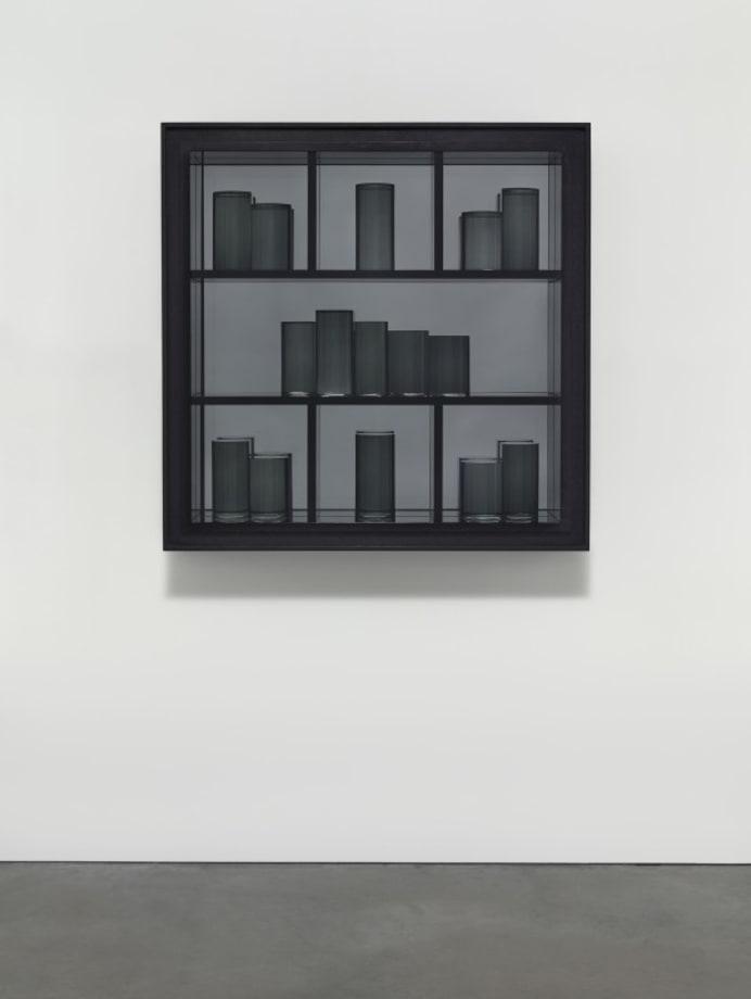 Grey Prism Painting III by Josiah McElheny