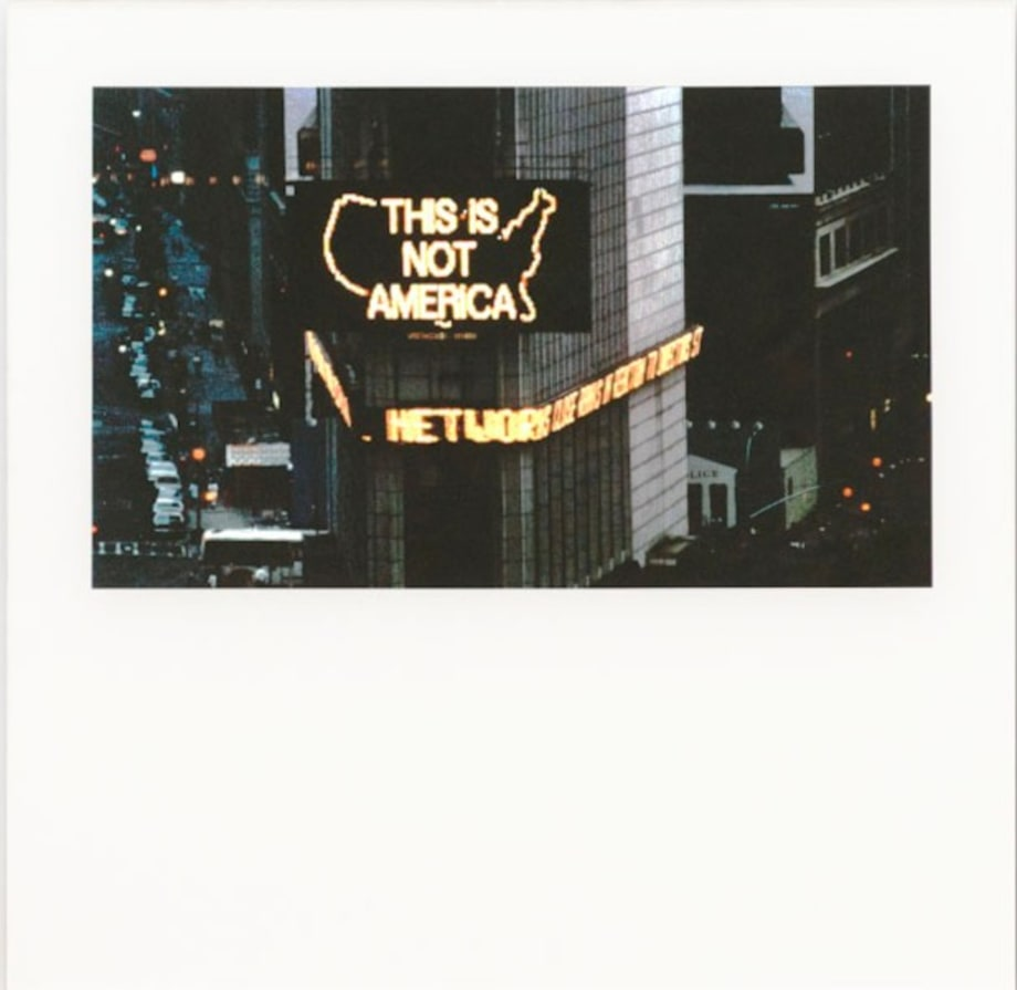 This is Not America by Alfredo Jaar