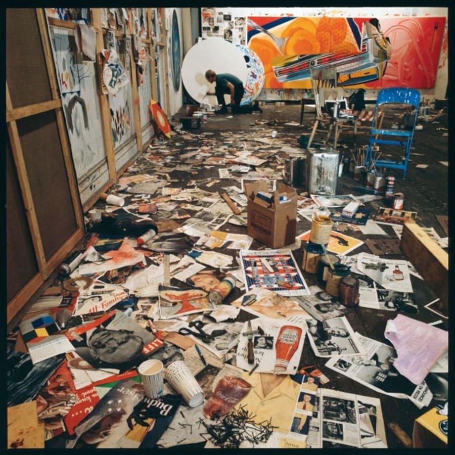 James Rosenquist, New York by Ugo Mulas