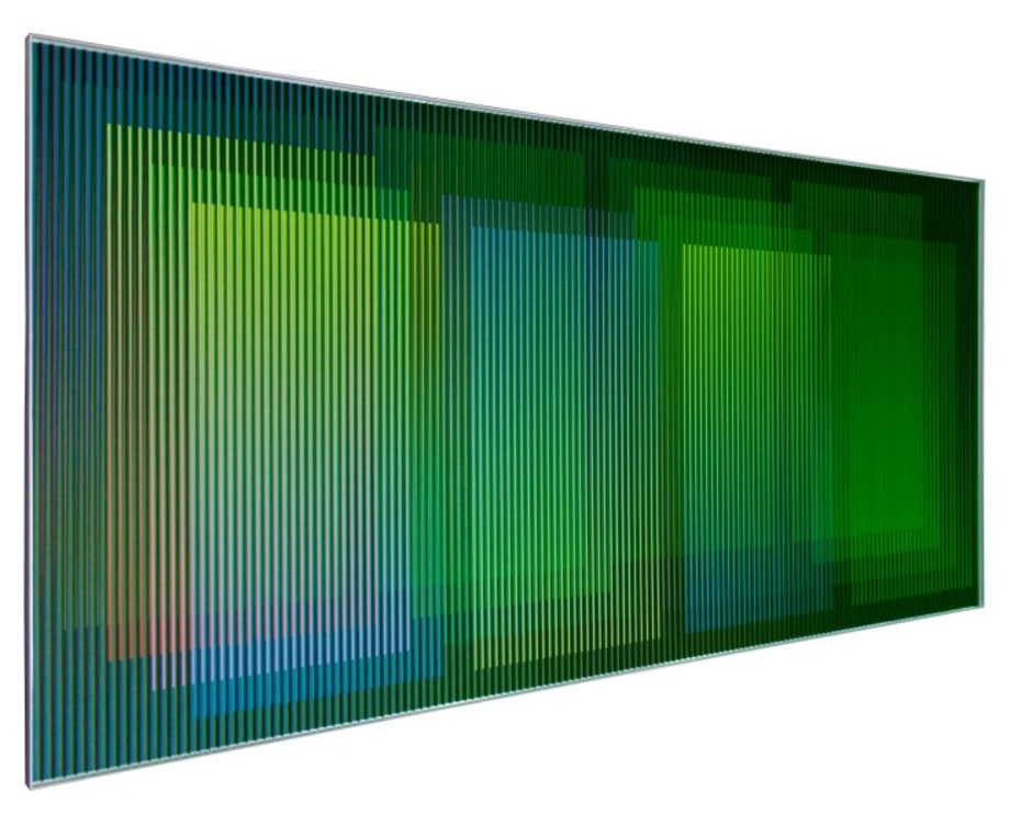 Physichromie Panam 218 by Carlos Cruz-Diez