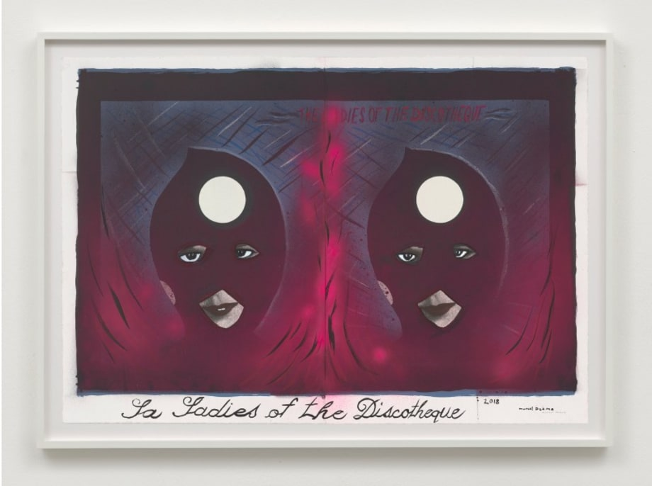 La Ladies of the Discotheque by Marcel Dzama