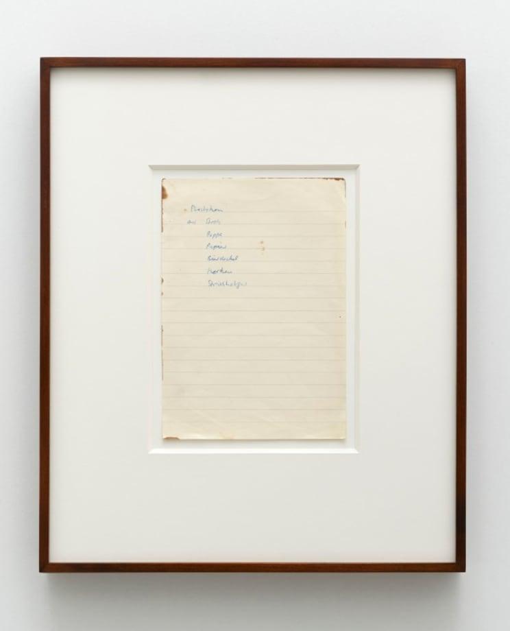 Untitled (Plastiken aus Stroh, Pappe, Papier, Bierdeckel, Korkern, Streichhölzer) by Sigmar Polke