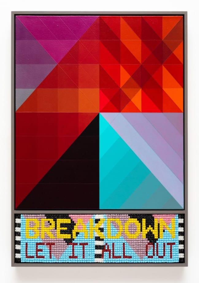 BREAKDOWN by Jeffrey Gibson