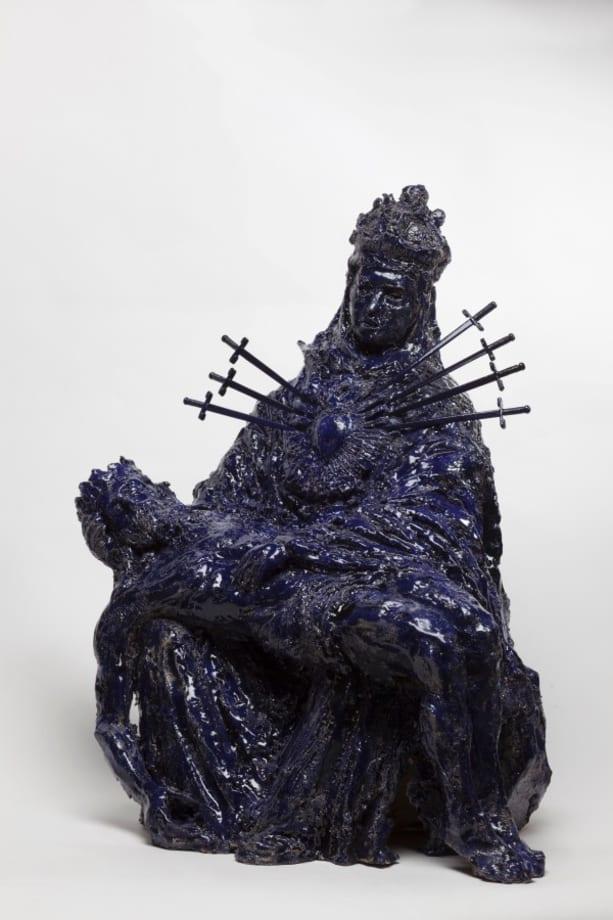 Pieta by Paulina Olowska