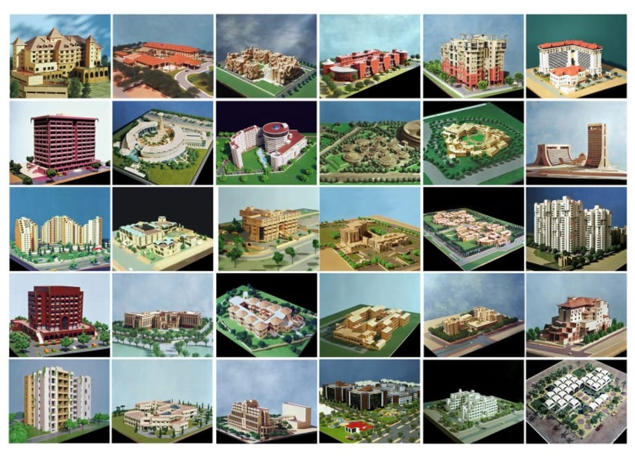 MODELS, II (set of 30 photographs) by Madan Mahatta