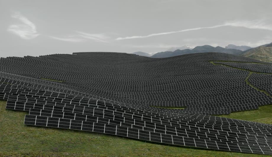 Les Mées by Andreas Gursky