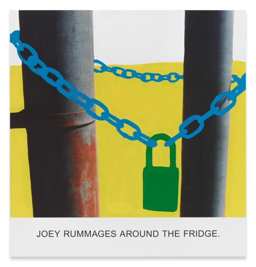 Joey Rummages Around… by John Baldessari