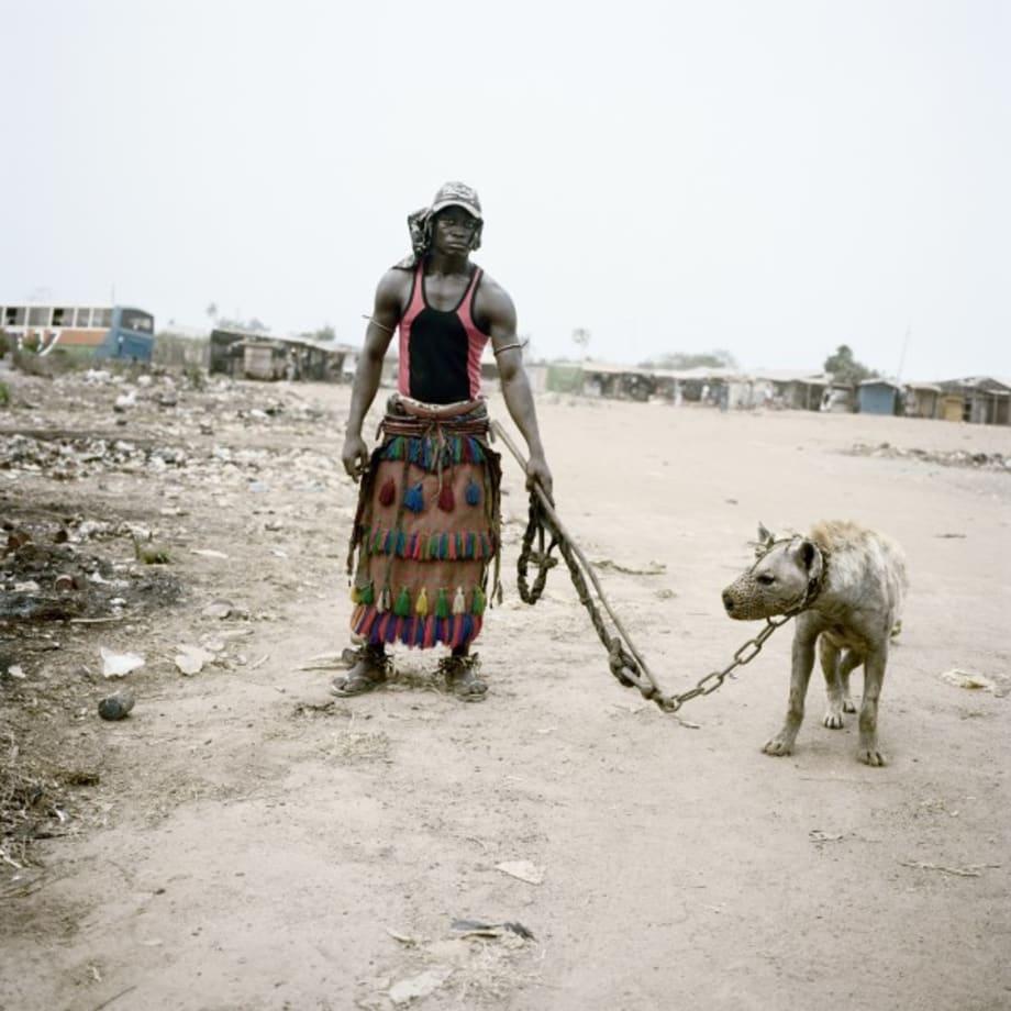 Abdullahi Mohammed with Mainasara, Lagos, Nigeria, 2007 by Pieter Hugo