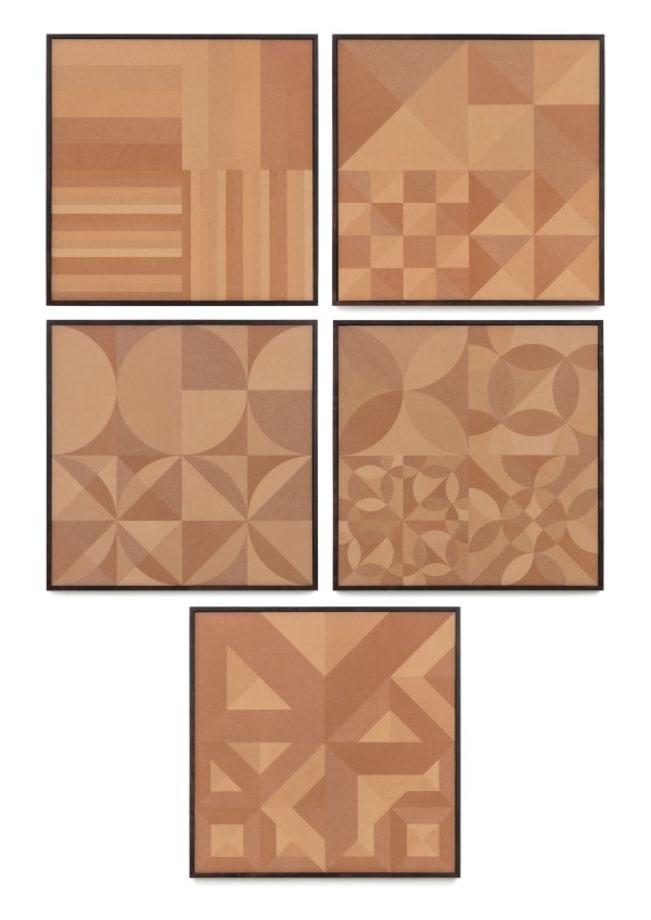 Cinnamon Sheets Composition by Haegue Yang