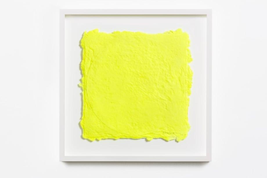 Yellow on a Vinyl 1 by Shinro Ohtake
