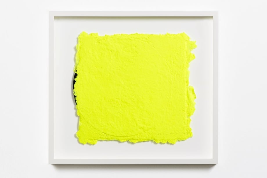Yellow on a Vinyl 4 by Shinro Ohtake