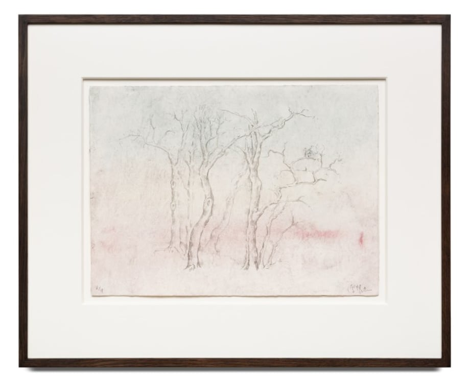 Wintry Trees 寒林图 by Zeng Fanzhi