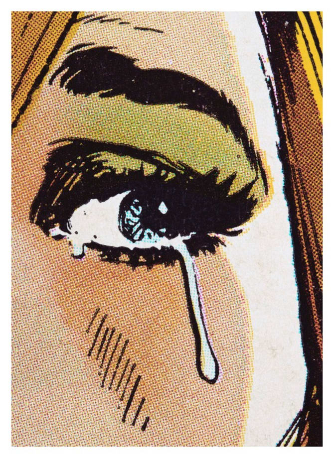 Woman Crying (Comic) #7 by Anne Collier