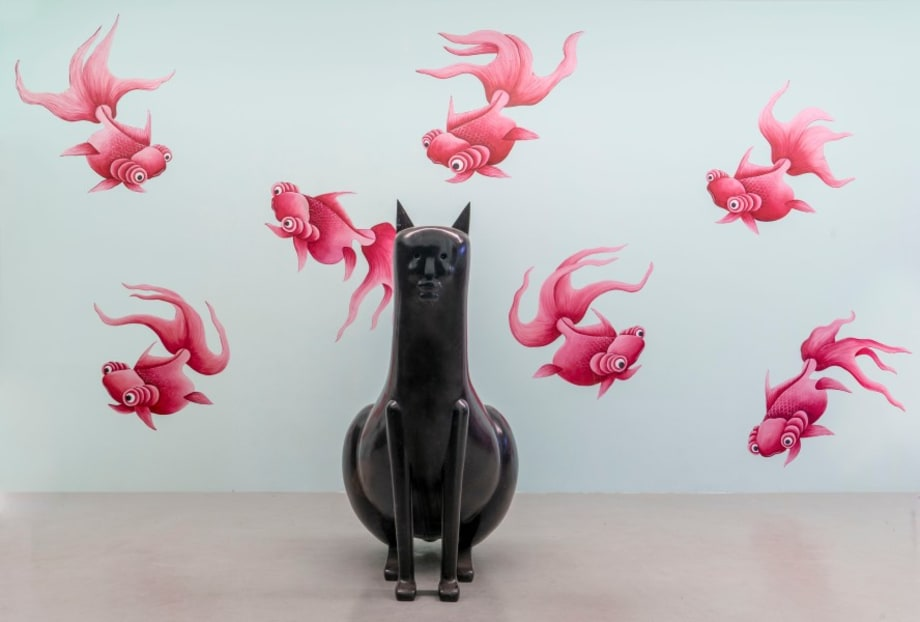 Large Cat by Nicolas Party