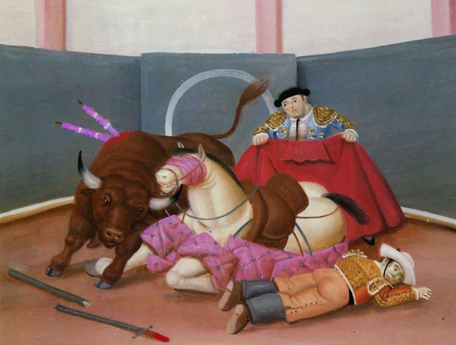 El Quite by Fernando Botero