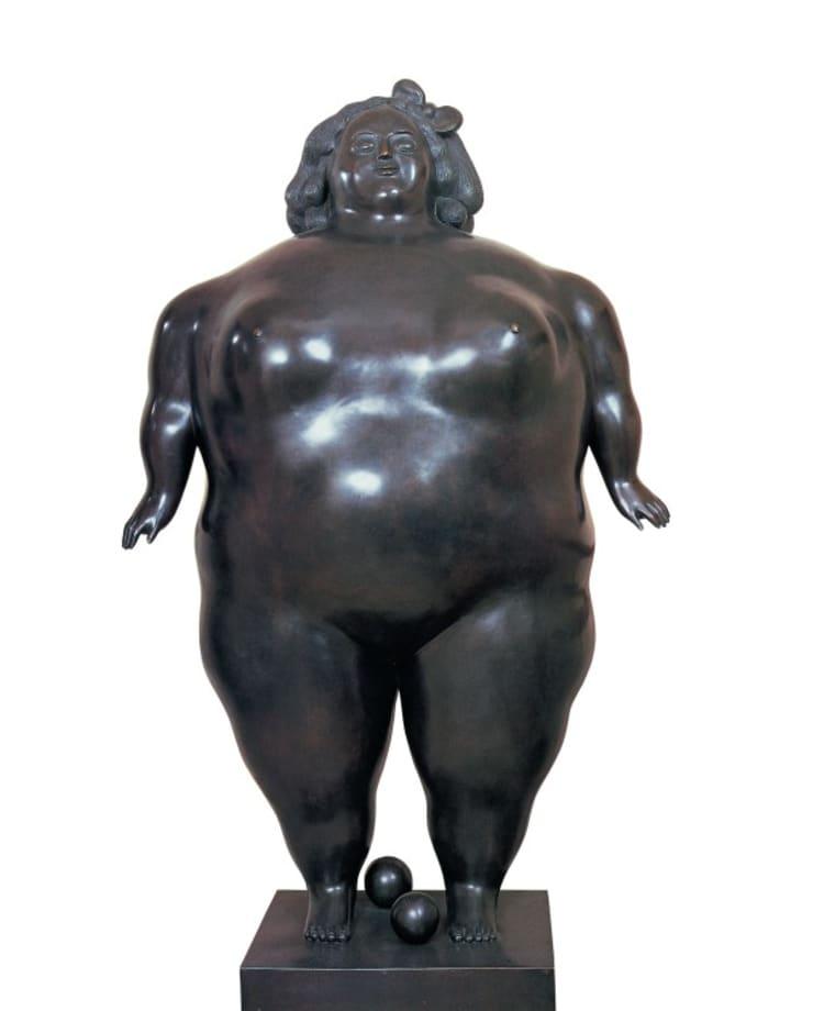 La Poupée by Fernando Botero
