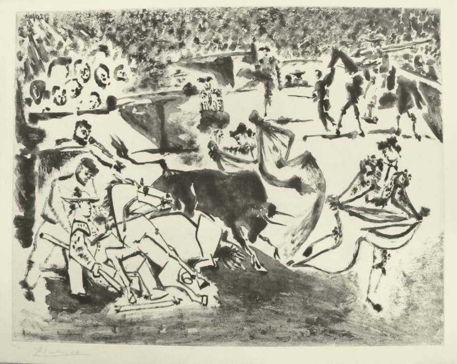 Le Picador blessé by Pablo Picasso