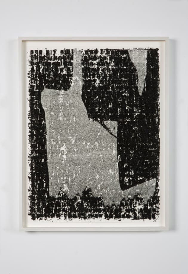 Mirror II Drawing #23 by Glenn Ligon