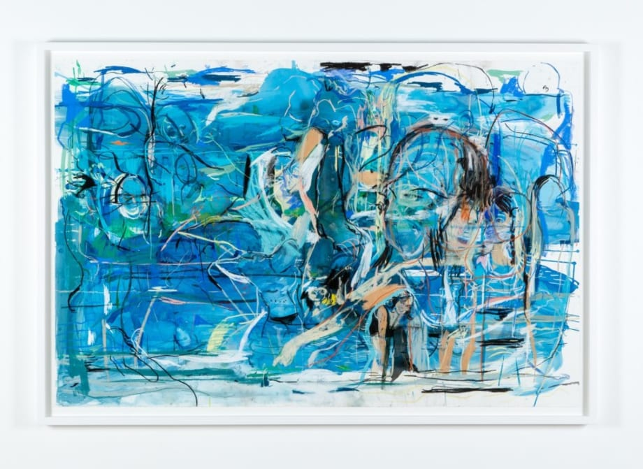 Madrepora (Blue) by Cecily Brown