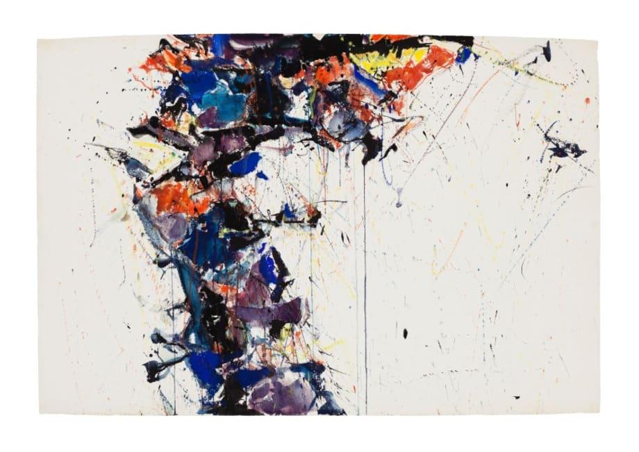 Untitled (SF58-139 aka SF57-075) by Sam Francis
