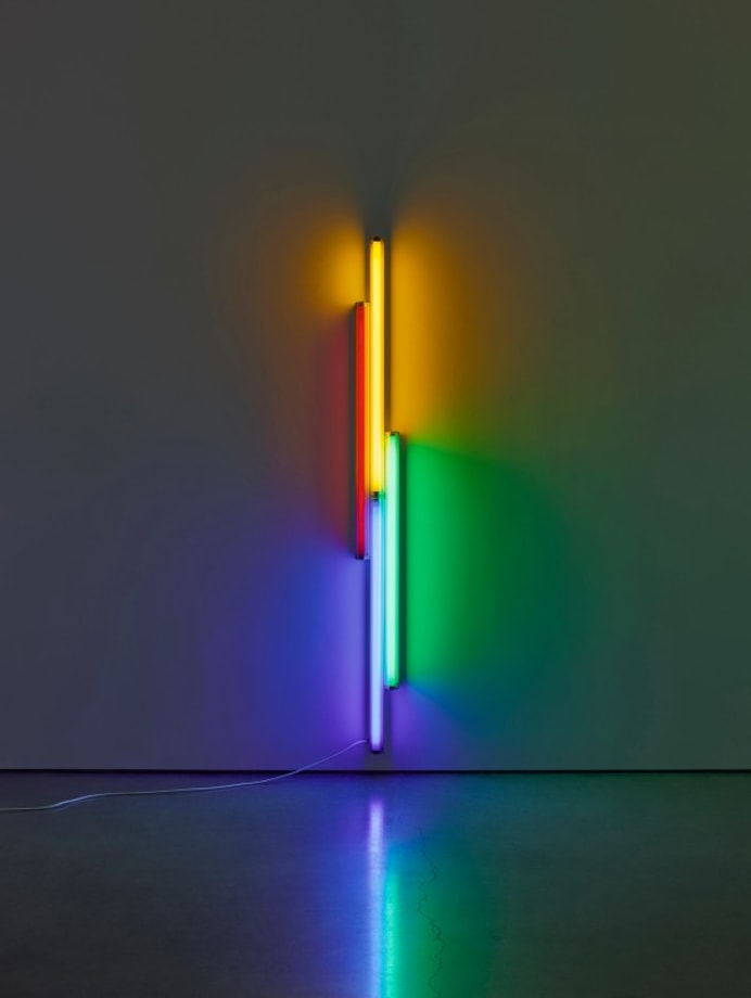 Untitled (for Véronique) by Dan Flavin