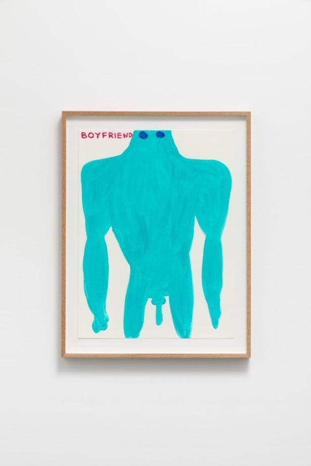 Untitled (Boyfriend) by David Shrigley