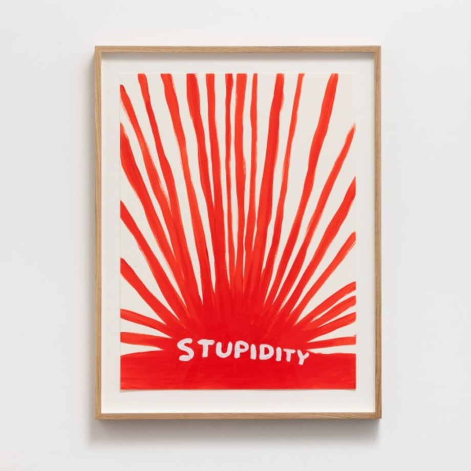 Untitled (Stupidity) by David Shrigley