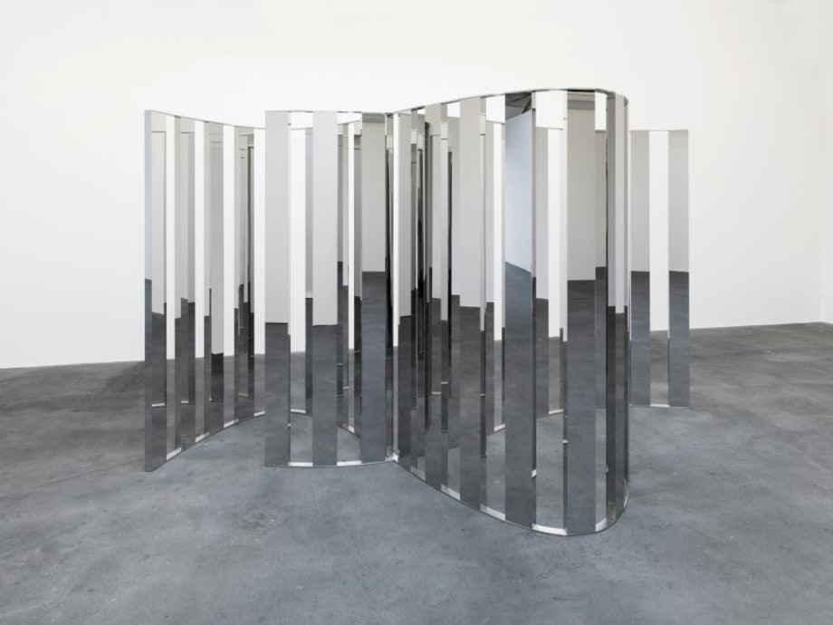Double Sine Curve by Jeppe Hein