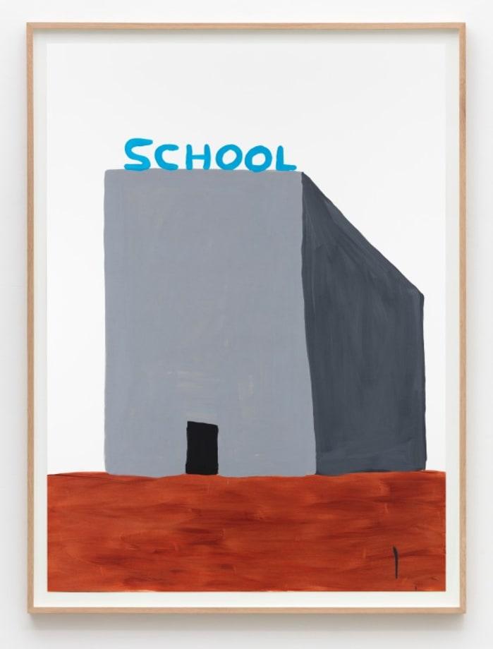 Untitled (School) by David Shrigley