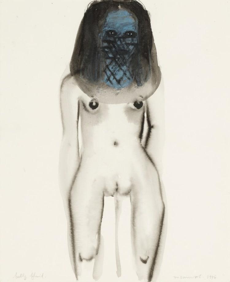 Bodily Fluid by Marlene Dumas