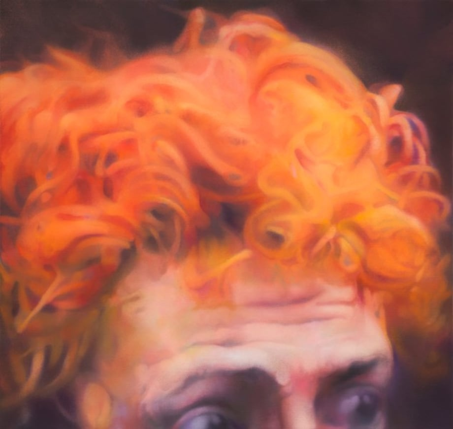Untitled (portrait of a man with red hair) by Johannes Kahrs